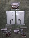 New, reproduction coin door hardware.